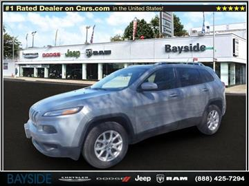 2015 Jeep Cherokee for sale in Flushing, NY