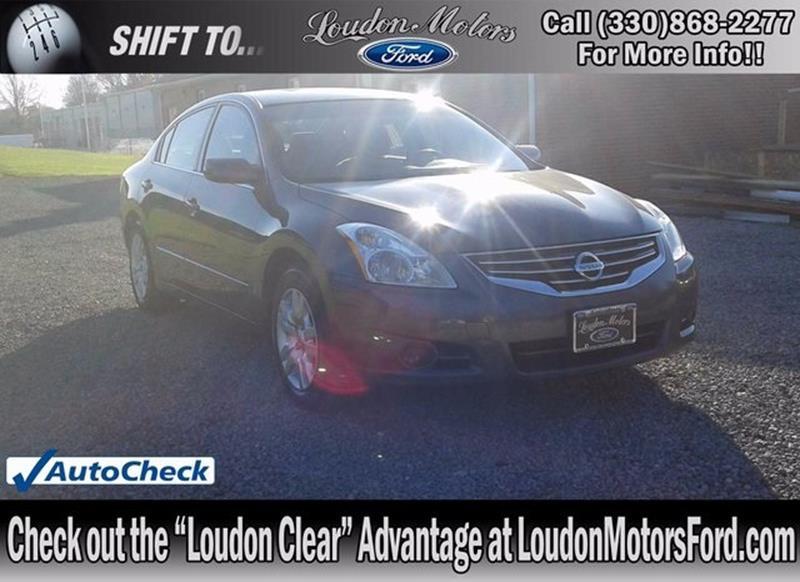 2011 Nissan Altima For Sale In Ohio