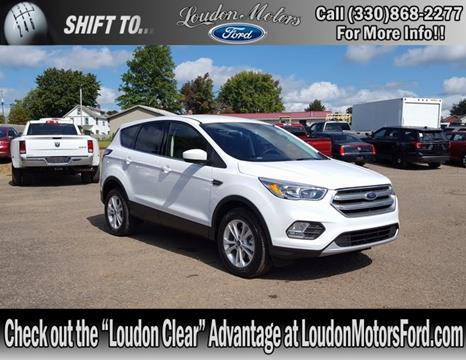 2017 Ford Escape for sale in Minerva, OH