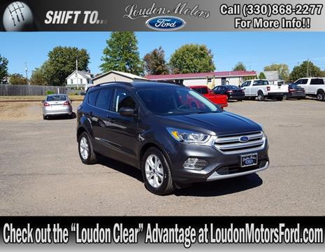 2018 Ford Escape for sale in Minerva, OH