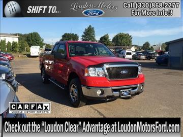 2008 ford f 150 for sale for Loudon motors ford minerva