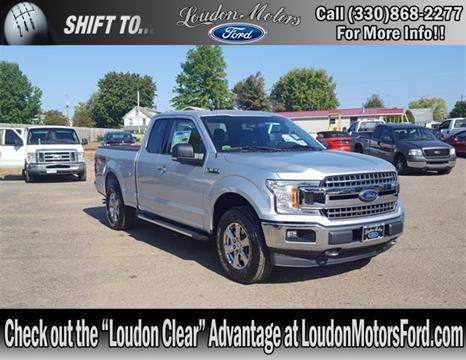 2018 Ford F-150 for sale in Minerva, OH