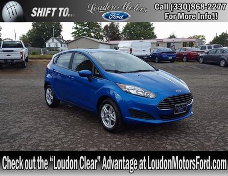 2017 Ford Fiesta for sale in Minerva, OH