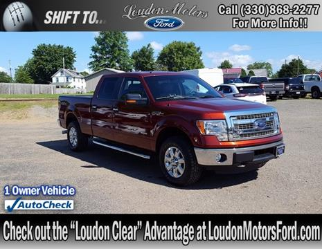 Used ford trucks for sale in minerva oh for Loudon ford motors minerva