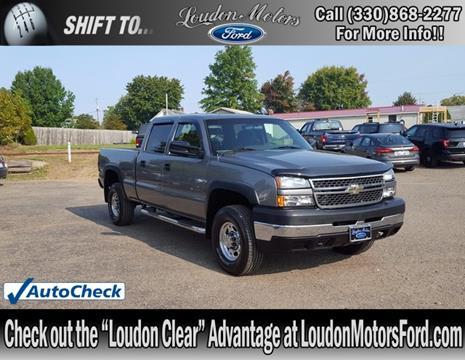 2006 Chevrolet Silverado 2500HD for sale in Minerva, OH