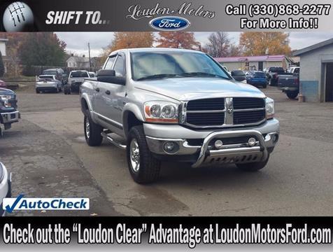 Dodge ram pickup 2500 for sale for Loudon motors ford minerva