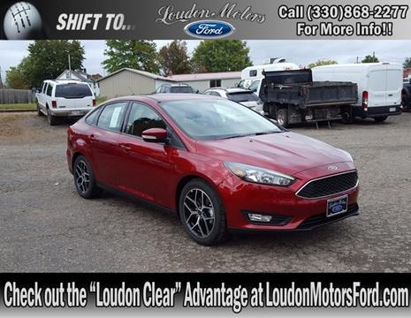 2017 Ford Focus for sale in Minerva, OH