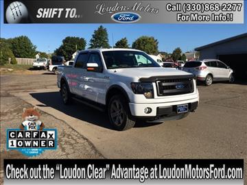 Used ford trucks for sale minerva oh for Loudon motors ford minerva