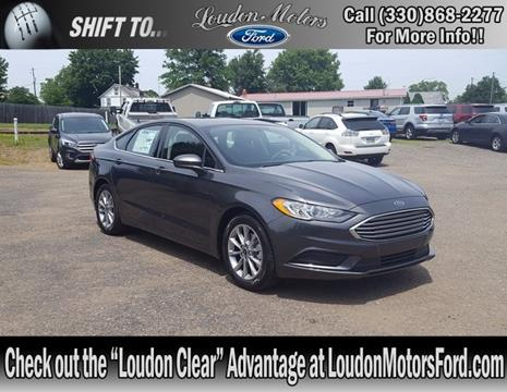2017 Ford Fusion for sale in Minerva, OH