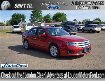 2011 Ford Fusion for sale in Minerva, OH