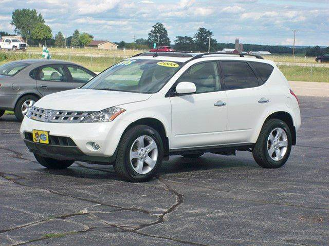 2005 nissan murano awd sl 4dr suv in depere wi best price autos. Black Bedroom Furniture Sets. Home Design Ideas
