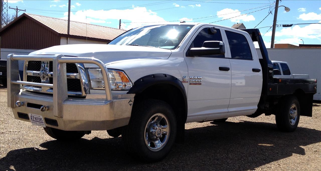 2013 ram ram pickup 2500 4x4 tradesman 4dr crew cab 8 ft for Rz motors inc hettinger nd