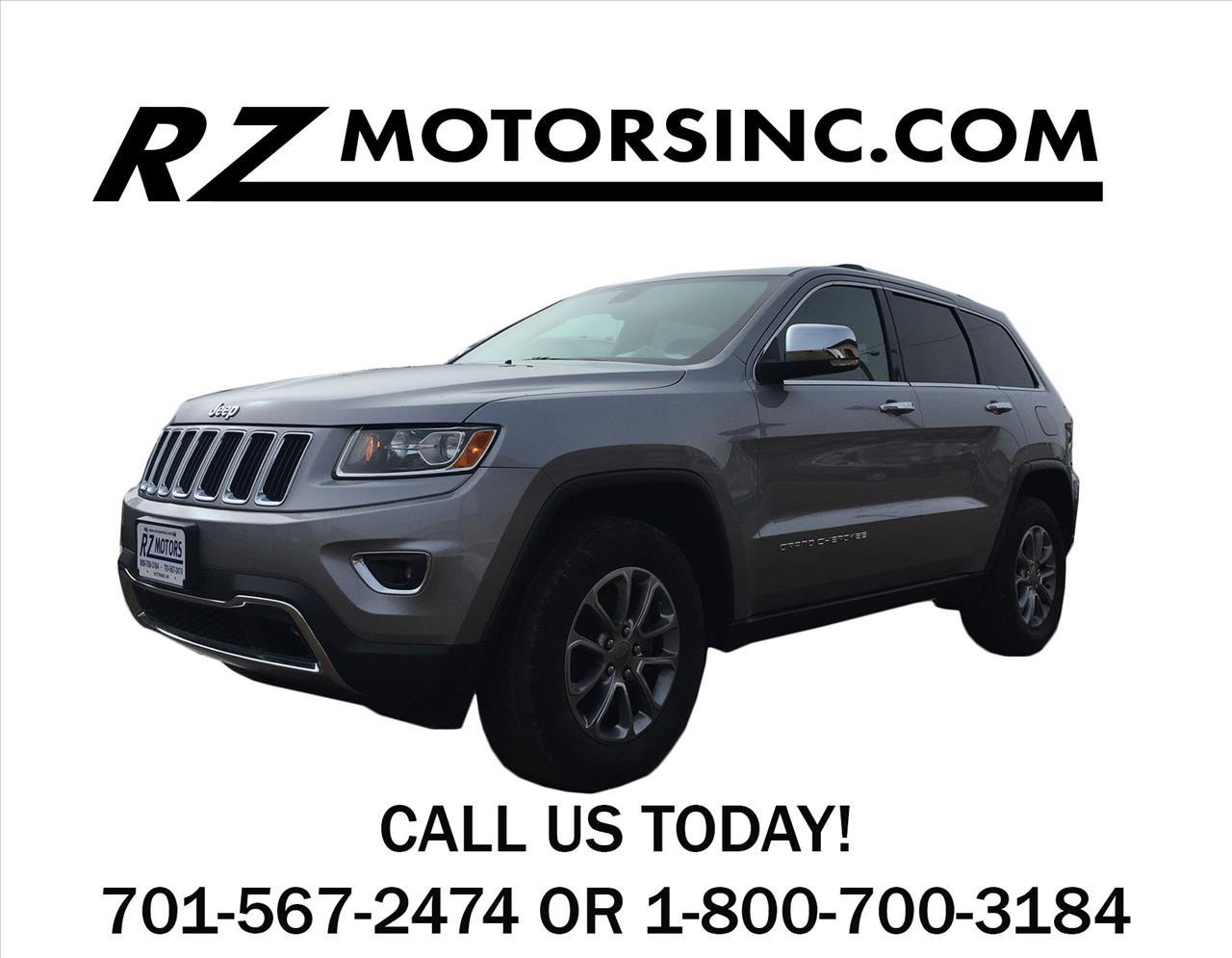 2014 jeep grand cherokee limited 4x4 4dr suv in hettinger for Rz motors inc hettinger nd