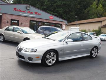 2004 Pontiac GTO for sale in Gibsonia, PA