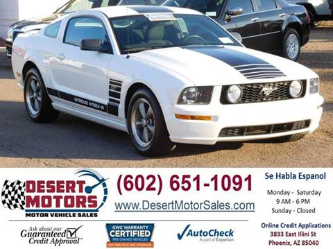 desert motors used cars phoenix az dealer autos post