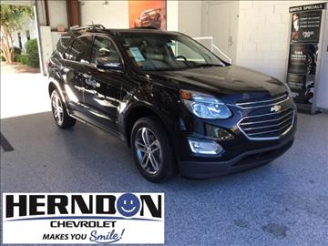 2017 Chevrolet Equinox for sale in Lexington, SC