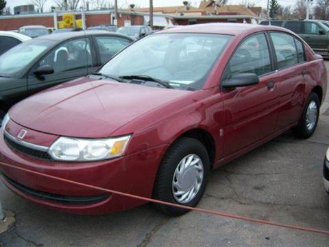 2004 Saturn Ion for sale in Brighton CO
