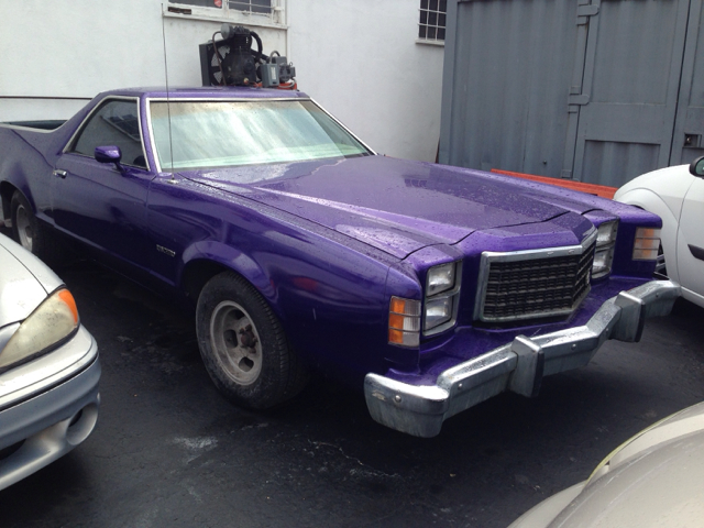 1979 FORD RANCHERO CUSTOM metallic   purple vehicle recently serviced  smoged warranty 6 months