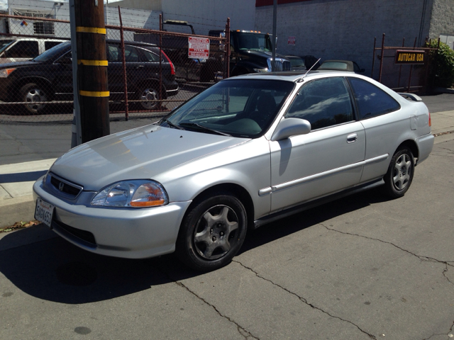1998 HONDA CIVIC EX COUPE silver vehicle recently serviced  smoged warranty 6 months6000 miles
