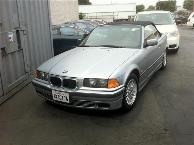 1998 BMW 3 SERIES 323IC silver 1998 bmw 328i greyblack 4-wheel disc brakes 5-speed 6 cylinder