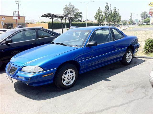 1995 PONTIAC GRAND AM SE COUPE blue vehicle recently serviced  smoged warranty 6 months6000 m