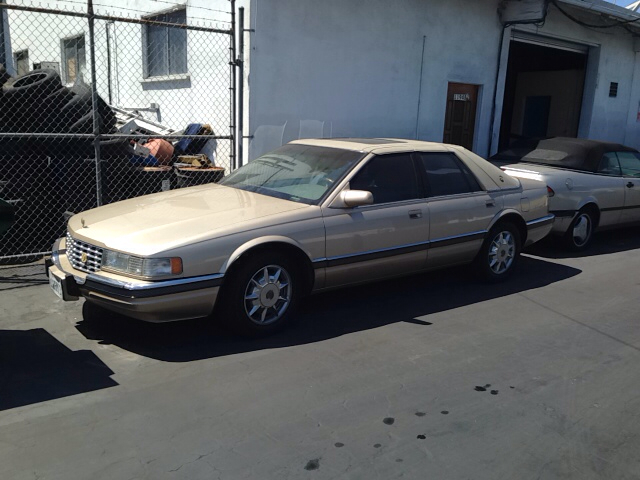 1997 CADILLAC SEVILLE SLS 4DR SEDAN gold vehicle recently serviced  smoged warranty 6 months60