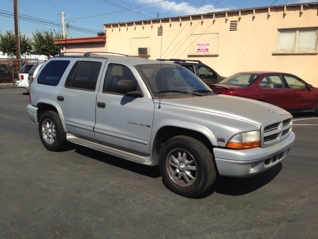 2000 DODGE DURANGO 2WD silver vehicle recently serviced  smoged warranty 6 months6000 miles w