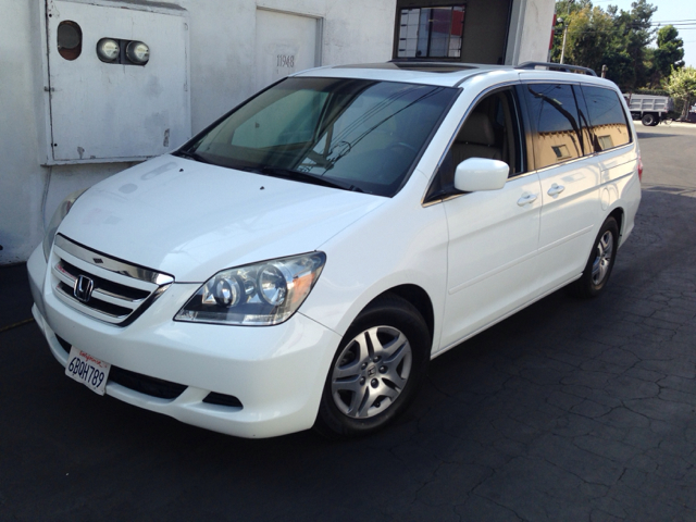 2007 HONDA ODYSSEY EX-L W DVD AND NAVIGATION white fully loaded dvd   rear drop down monitor  ba