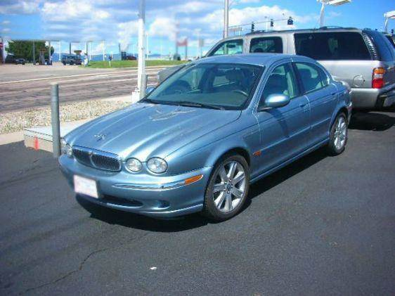 2003 JAGUAR X-TYPE 25 blue vehicle recently serviced  smoged warranty 6 months6000 miles we