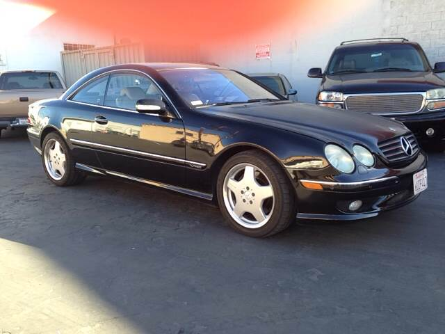2001 MERCEDES-BENZ CL-CLASS CL600 2DR COUPE black vehicle recently serviced  smoged warranty 6