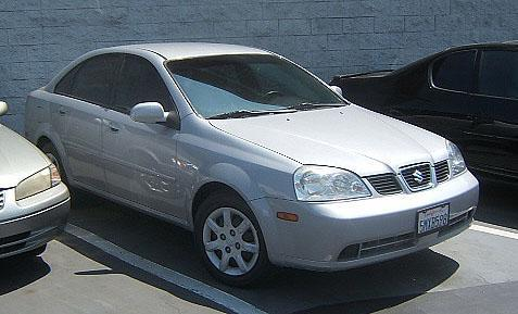 2005 SUZUKI FORENZA S silver vehicle recently serviced  smoged warranty 6 months6000 miles we