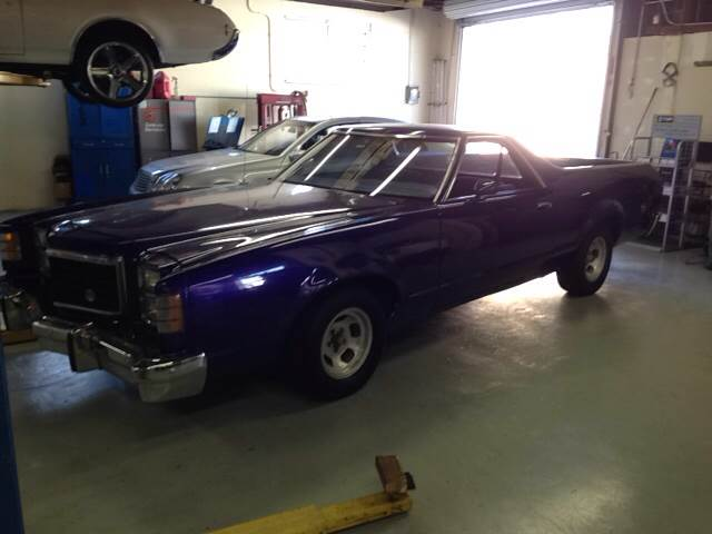 1979 FORD RANCHERO CUSTOM pearl purple vehicle recently serviced  smoged warranty 6 months600