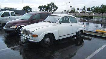 1967 SAAB MONTE CARLO white saab v4 monte carlo whiteblack 4 cylinder engine 4-speed mt brake