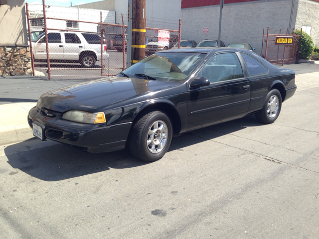 1995 FORD THUNDERBIRD LX black fully loaded chrome wheels must see  must drive hurry wongg
