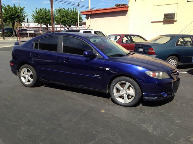 2005 MAZDA MAZDA3 S 4-DOOR blue vehicle recently serviced  smoged warranty 6 months6000 miles