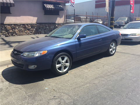 2000 Toyota Camry Solara for sale in Downey, CA
