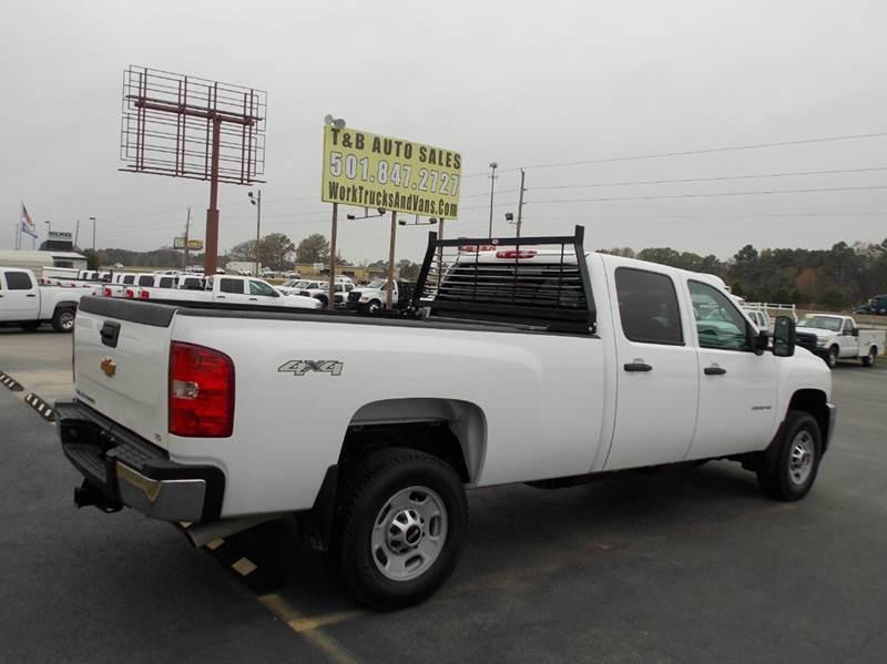 2014 chevrolet silverado 2500hd 4x4 work truck 4dr crew cab lb in bryant ar t b auto sales inc. Black Bedroom Furniture Sets. Home Design Ideas
