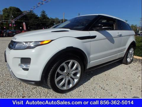 2012 Land Rover Range Rover Evoque Coupe for sale in Vineland, NJ