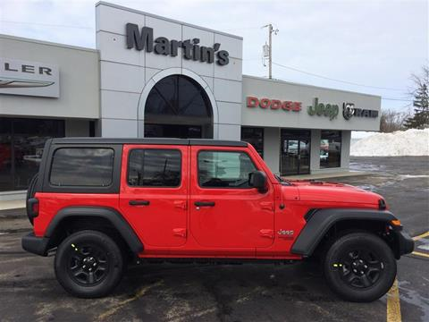2019 Jeep Wrangler Unlimited for sale in Union Grove, WI