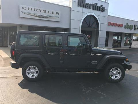 2017 Jeep Wrangler Unlimited for sale in Union Grove, WI