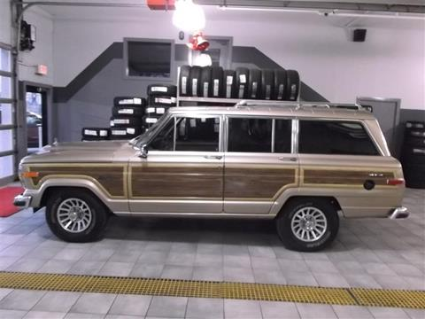 1989 Jeep Grand Wagoneer for sale in Union Grove, WI