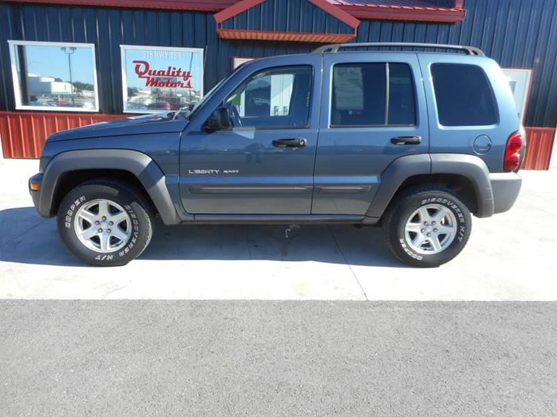 2002 jeep liberty 4dr sport 4wd suv in algona ia quality. Black Bedroom Furniture Sets. Home Design Ideas