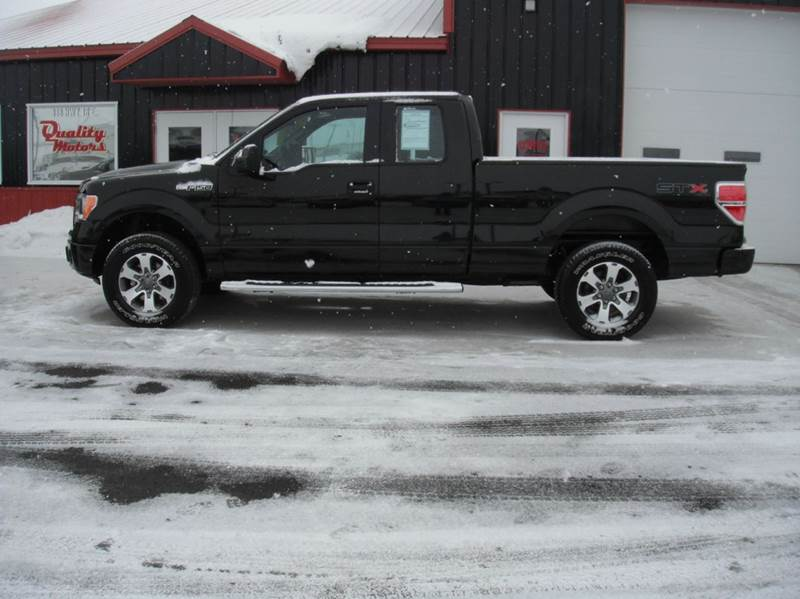2012 ford f 150 stx 4x4 4dr supercab styleside 6 5 ft sb in algona ia quality motors inc. Black Bedroom Furniture Sets. Home Design Ideas