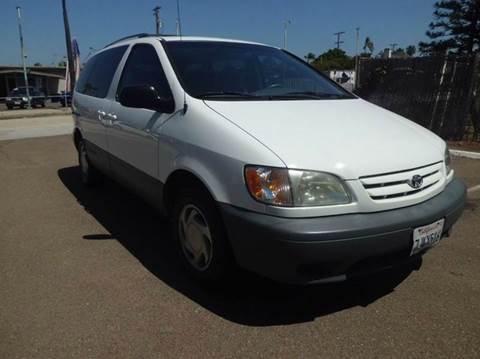 2001 Toyota Sienna For Sale Carsforsale