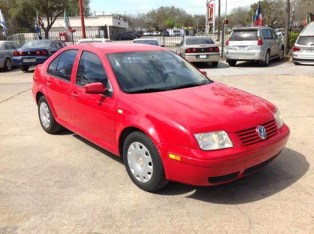 2000 Volkswagen Jetta GLS 2.0 - Houston TX