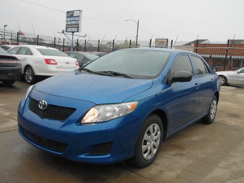 2009 Toyota Corolla  Miles 47730Color blue Stock 1206 VIN 1NXBU40EX9Z040961