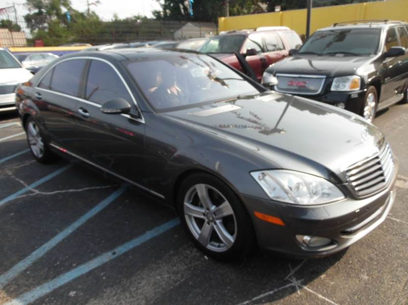 2007 MERCEDES S-class  Miles 114426Color GREY  42 Stock 1198 VIN WDDNG71X57A033768