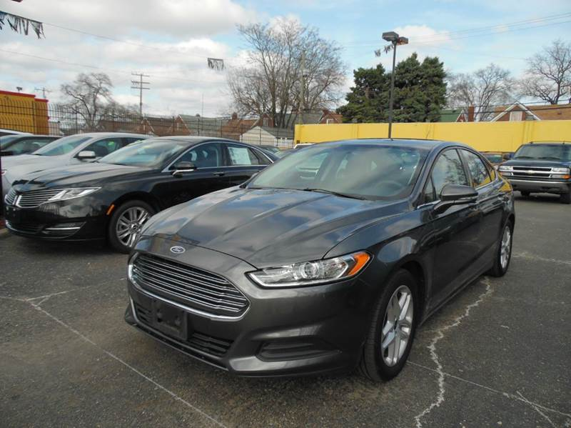 2016 Ford Fusion  Miles 107367Color GREY Stock 1291 VIN 3FA6P0H74GR175889