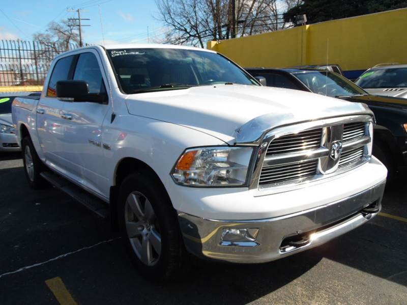 2010 Dodge Ram Pickup 1500  Miles 110036Color white Stock 1296 VIN 1D7RV1CT6AS205581