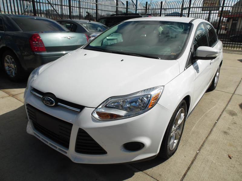 2014 Ford Focus  Miles 78978Color white Stock 1297 VIN 1FADP3F2XEL122898